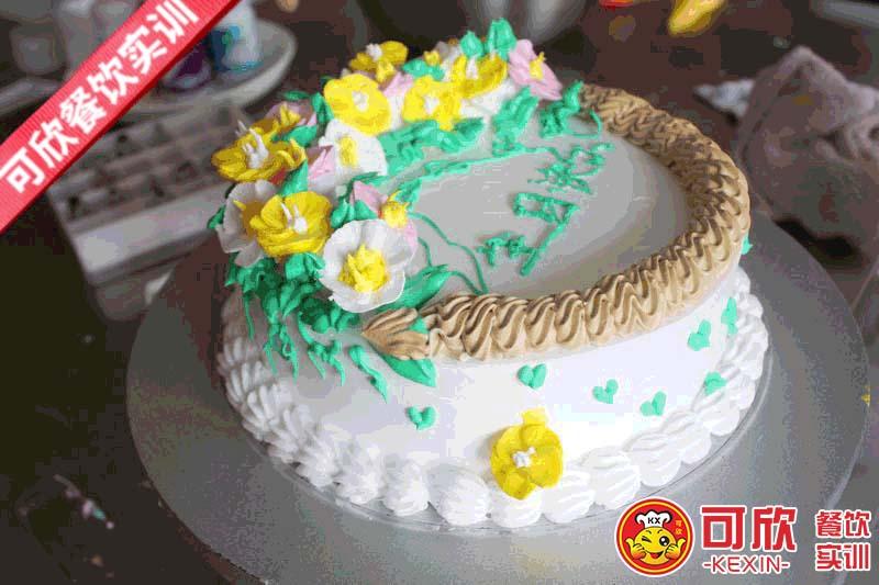裱花蛋糕培训