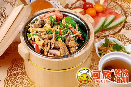 木桶饭培训 快餐技术 盒饭技术 炒菜盖饭技术培训