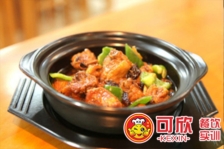 黄焖鸡米饭培训 快餐技术 特色小吃美食技术培训